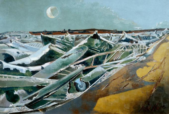 Totes Meer (Dead Sea) 1940-1 by Paul Nash 1889-1946