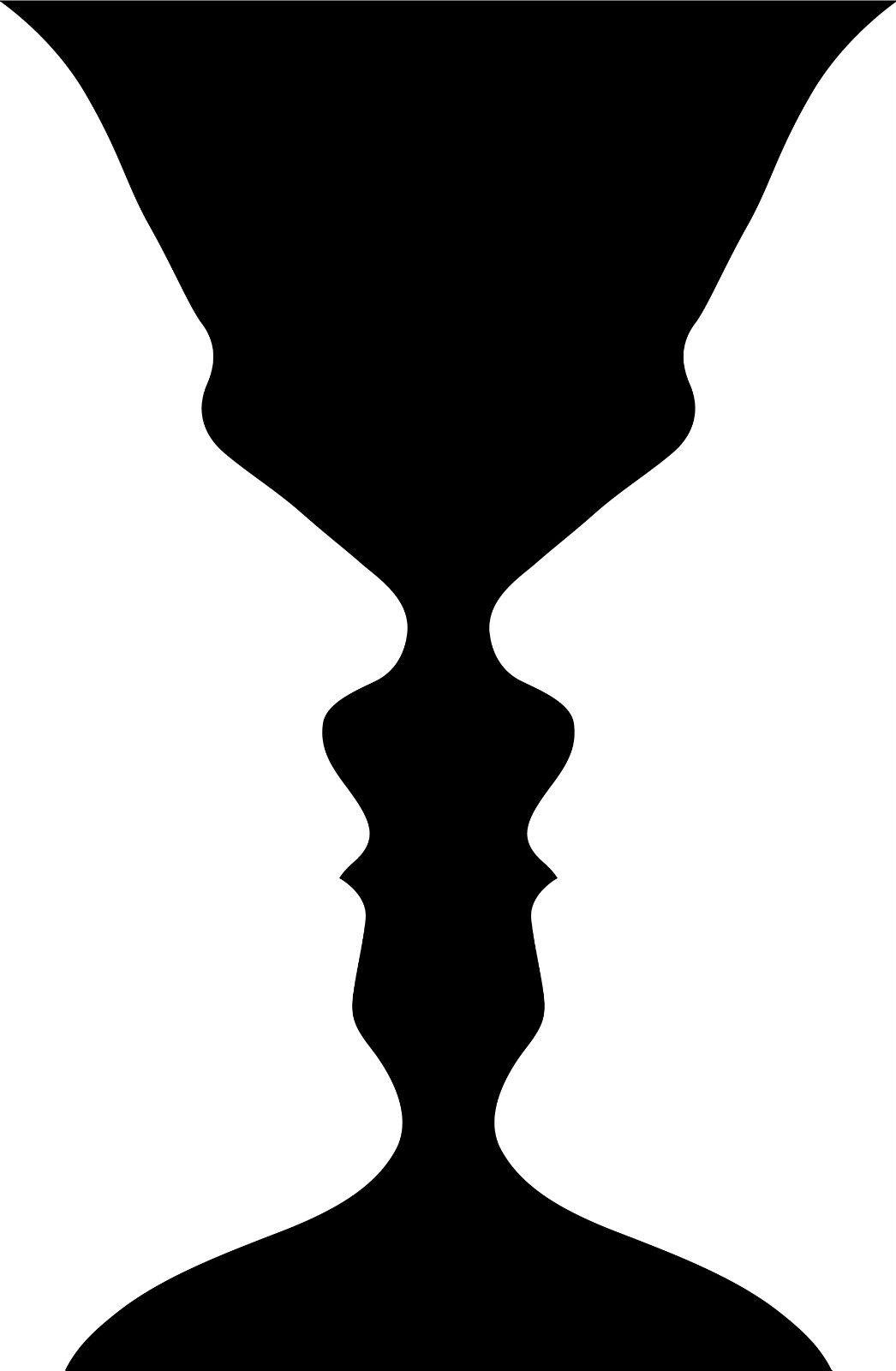 face vase ilusion