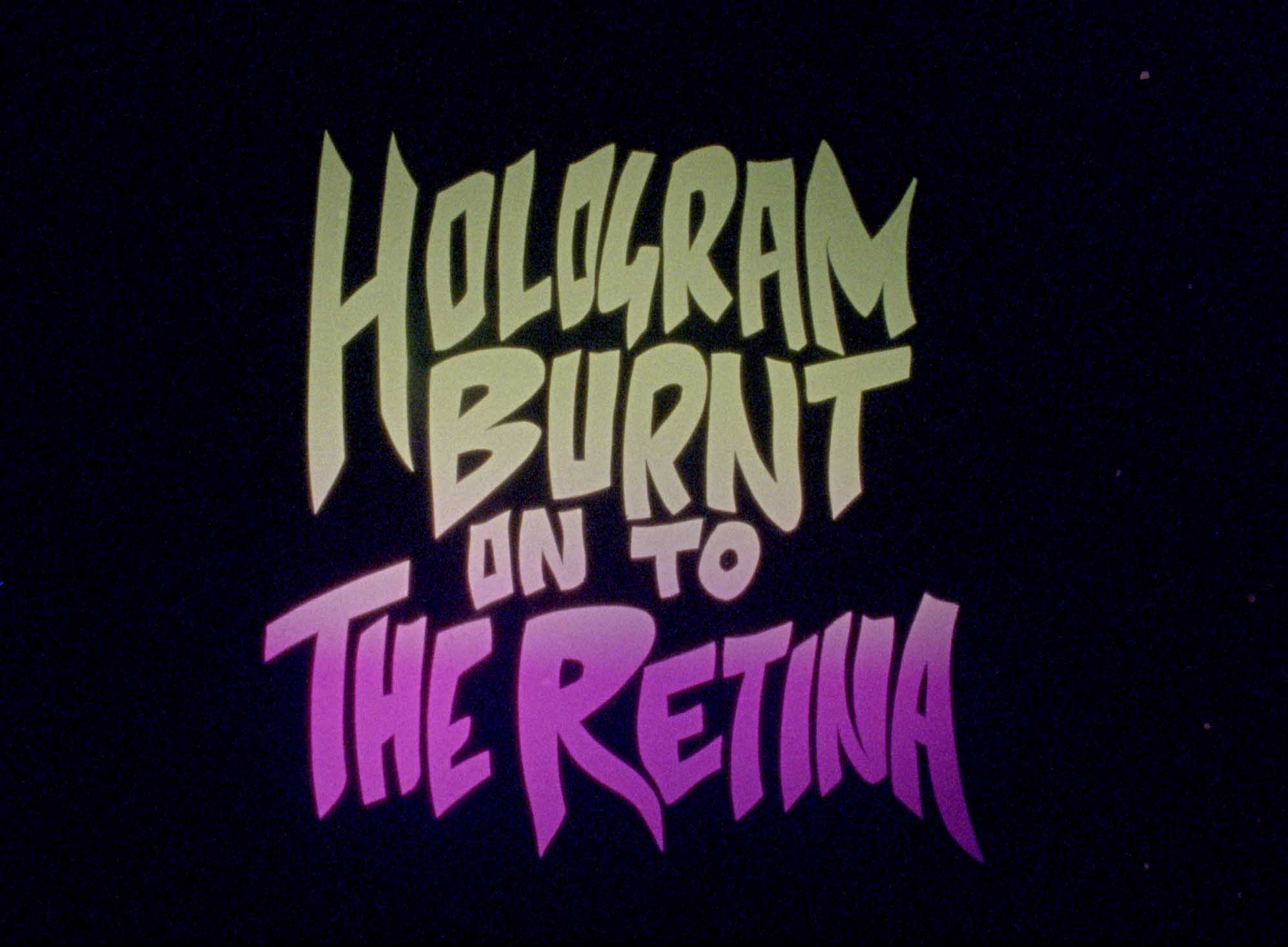 Sam Austen, still from Hologram Burnt On To The Retina, 2018