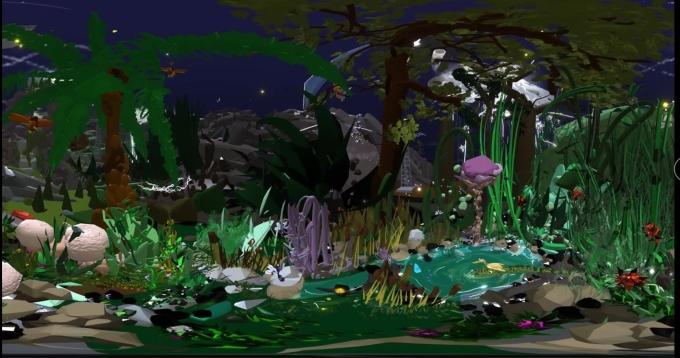 Sender-chaldecut-Padcal's garden